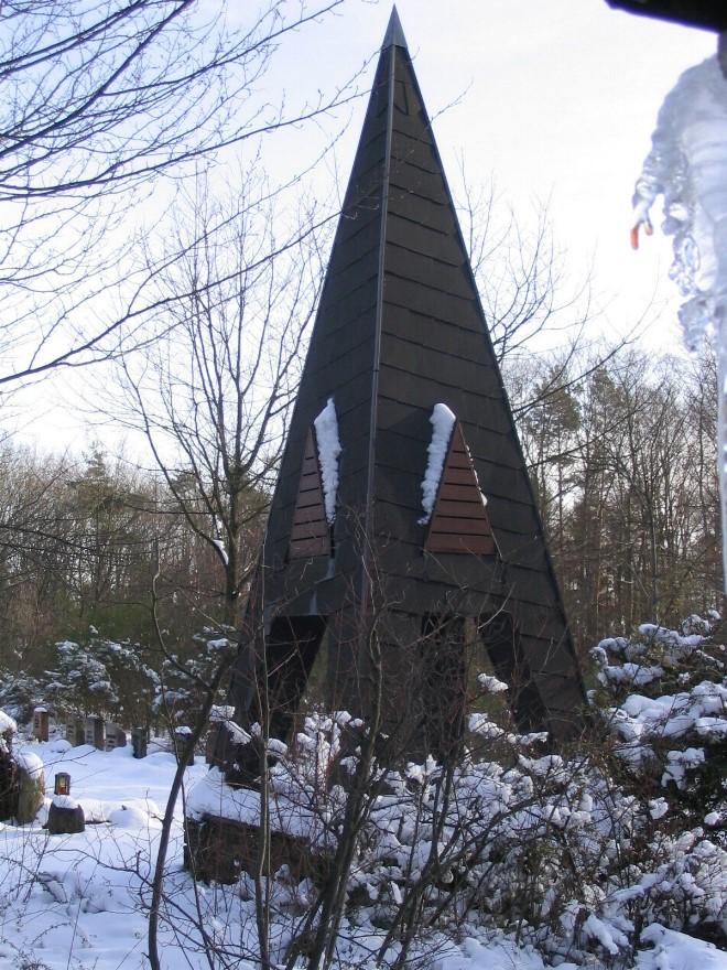 Glockenturm Waldfriedhof