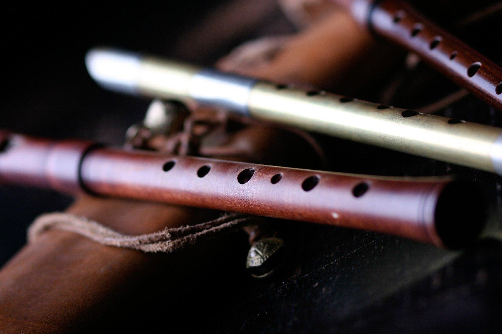Verschiedene Flöten